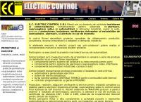 Site S.c. Electric Control S.r.l