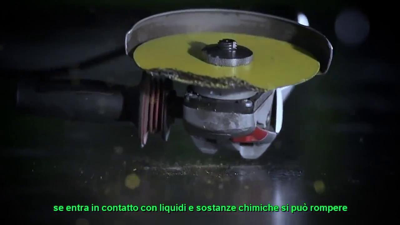 Disc Diamantat pentru debitarea metalelor