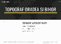 Site Topograf Oradea