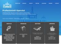 Site Compania Nationala a Imprimeriilor Coresi SA