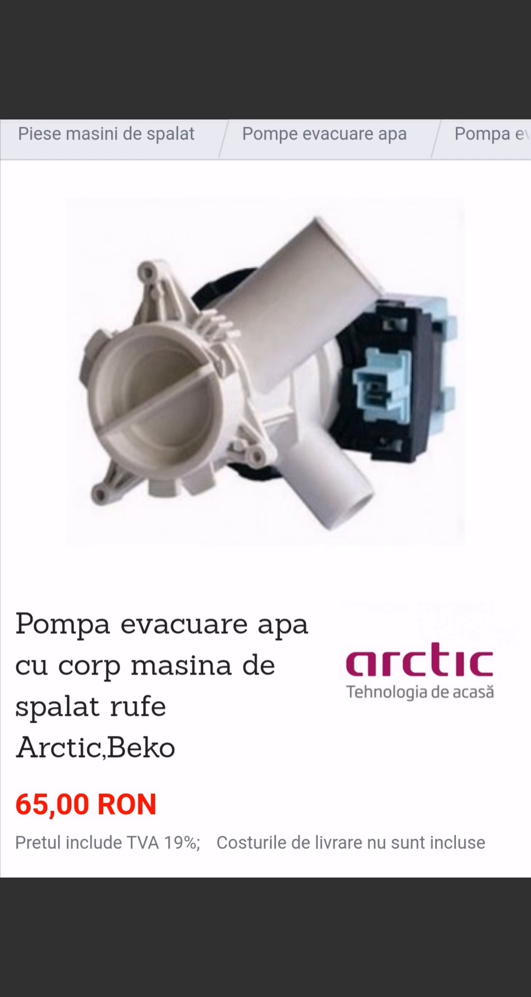 eviastore.ro, piese pentru instalatii frigorifice