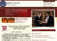 Site Baroul Galati