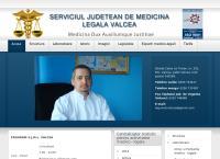 Site Serviciul Judetean de Medicina Legala Valcea