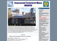 Site Inspectoratul Teritorial de Munca Vrancea