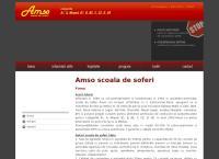 Site Scoala de Soferi Amso