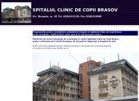 Site Spitalul Clinic de Copii Brasov