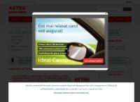 Site Astra asigurari - Agentia Gaesti
