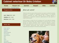 Site Cabinet Veterinar -Dr Bobu Cristian