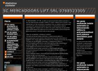 Site Mercadoors Lift SRL