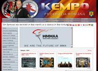 Site Federatia Romana de Kempo