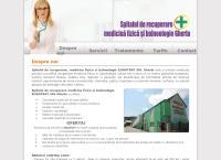 Site Spitalul de Recuperare,  Medicina fizica si Balneologie Gherla