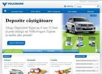 Site Volksbank Satu Mare