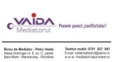 Birou de mediator Petru Vaida