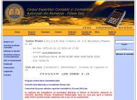 Site C.E.C.C.A.R.Corpul Expertilor Contabili si Contabililor Autorizati din Romania - Filiala Dolj