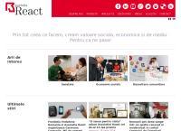 Site Asociatia React Bucuresti