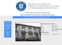 Site Agentia Judeteana pentru Plati si Inspectie Sociala Ilfov