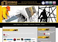 Site Izomag Construcţii