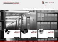 Site Centrul General de Arhivare