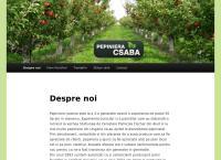 Site Pepiniera Csaba