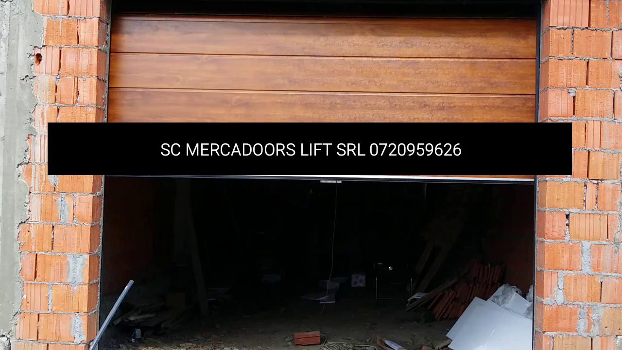 usi garaj cu telecomanda valcea